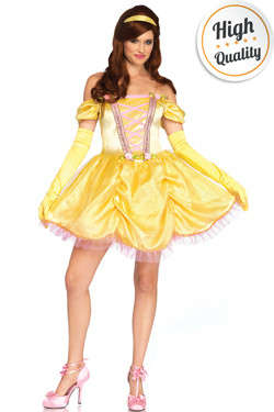 Enchanting Princess Belle Jurk