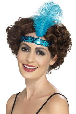 Flapper Haarband Blauw