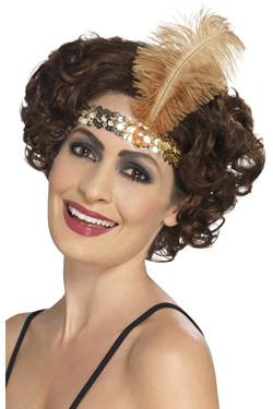 Flapper Haarband Goud