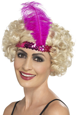 Flapper Haarband Pink