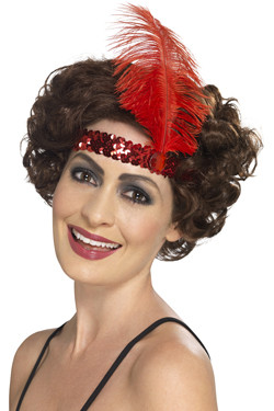 Flapper Haarband Rood