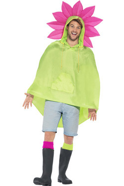 Party Poncho Flower