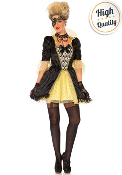 Gemaskerde Dame Kostuum