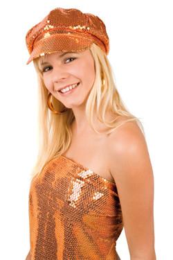 Glitter Pet Oranje