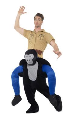 Gorilla Piggyback Kostuum