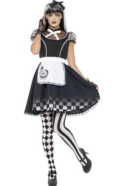 Gothic Alice Halloween Kostuum