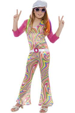 Groovy Hippie Kostuum Kids