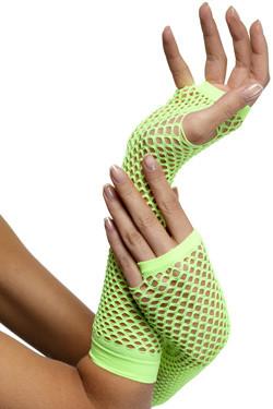 Handschoenen Net Neon