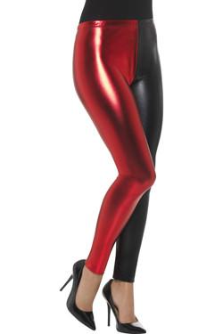 Harlequin Cosplay Legging Zwart