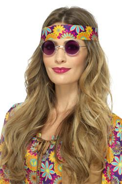 Hippie Bril Paars