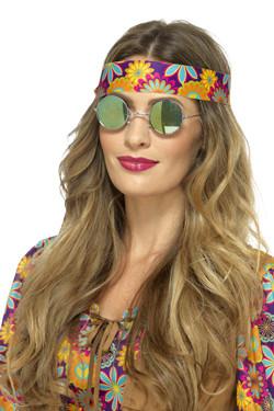 Hippie Bril Spiegelglazen