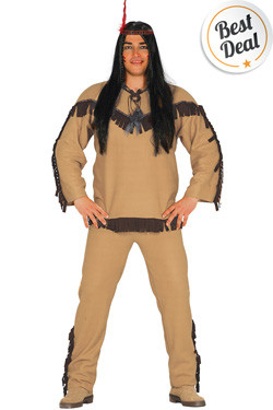 Indiaan Kostuum Man