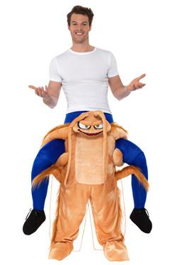 Kakkerlak Piggyback Kostuum