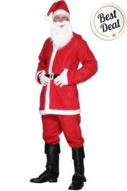 Kerstman kostuum basic