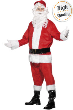 Kerstman kostuum deluxe