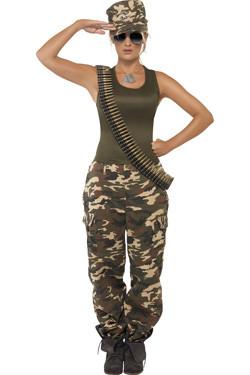 Soldaat Khaki Camo (dames)