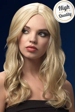 Khloe Fever Pruik Donker Blond