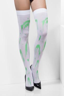 Kousen Halloween Green Splatter