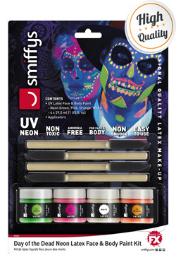 Latex Make-up UV Neon