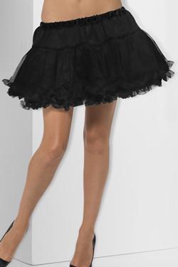 Layered Petticoat Zwart