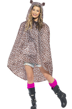 Party Poncho Leopard