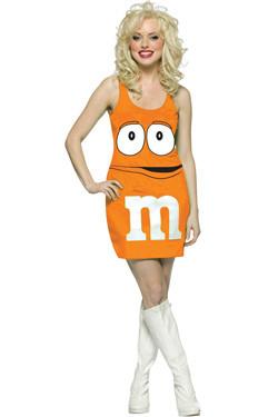 M&M Jurk Oranje