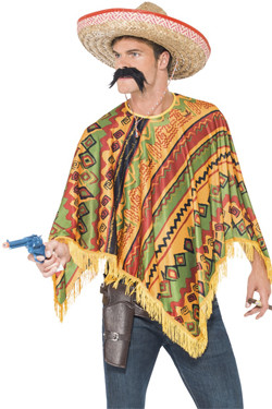 Mexicaanse poncho kit