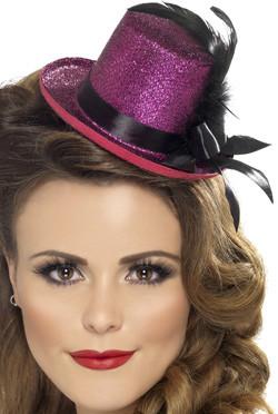Mini Hat Feather