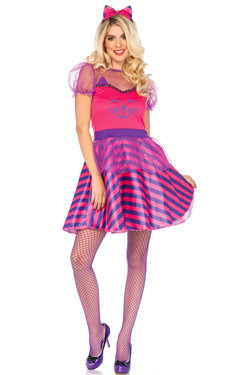 Miss Cheshire Cat Kostuum