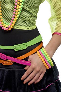 Neon Armbanden 4pcs