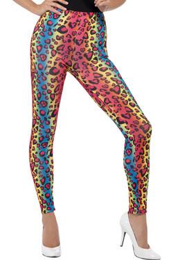 Neon Leopard Legging