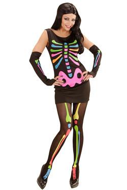 Neon Skelet Dame