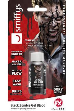 Nep Bloed Zombie Zwart