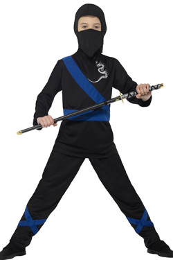 Ninja Assassin Kostuum Kids