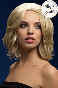 Olivia Fever Pruik Donker Blond