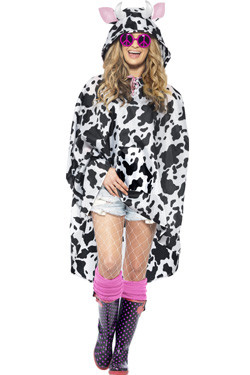 Party Poncho Cow