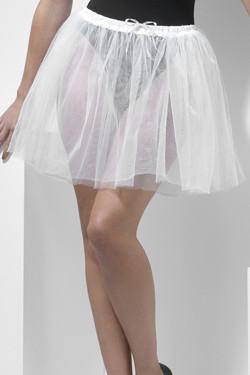 Petticoat Wit Langer (34cm)