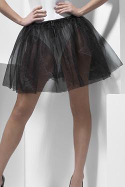 Petticoat Zwart Langer (34cm)