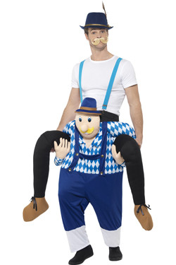 Piggyback Kostuum Bavarian Man