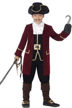 Piraat Kapitein Jongens Kostuum