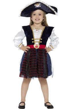 Piraat Meisje Glitter (Kids)
