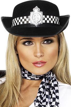 Politie Lady Hoed