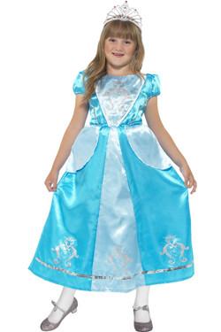 Prinses blauw kids