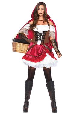 Rebel Roodkapje Kostuum