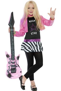 Rockstar Glam Kostuum Kids