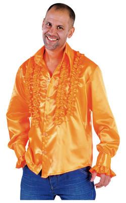 Rouches Blouse Oranje