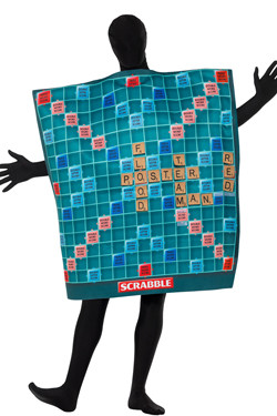 Scrabble Bordspel Kostuum Unisex