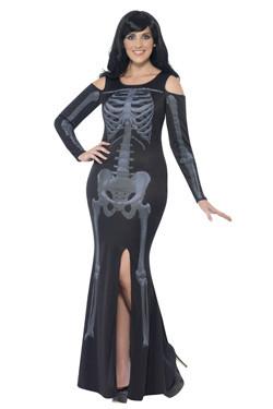 Skeleton Dress Curves