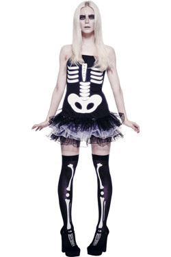 Skeleton Tutu Fever