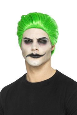 Slick Trickster The Joker Pruik